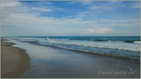 The Beach Near Eastern Regional Access, Emerald Isle, NC