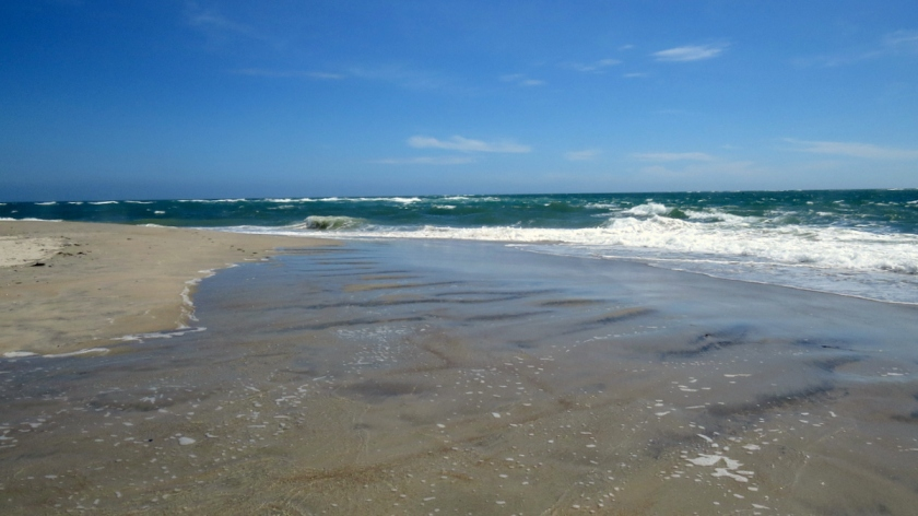 The beach at the Point, Emerald Isle, NC