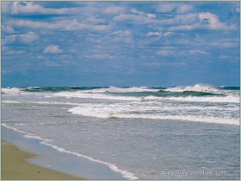 Waves at Hammocks Beach State Park