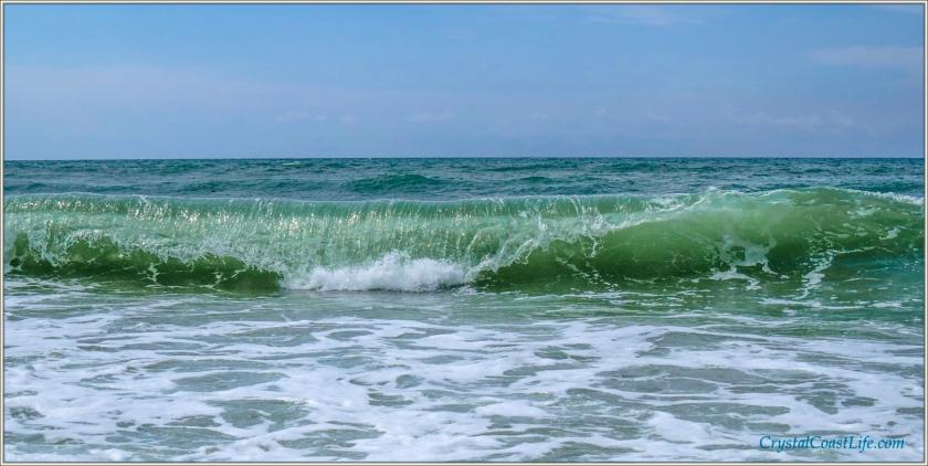 The Surf at Third Street Beach, July 31, 2013