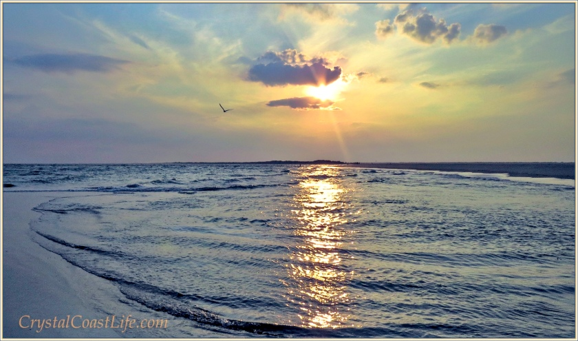 Sunset at The Point, Emerald Isle, NC