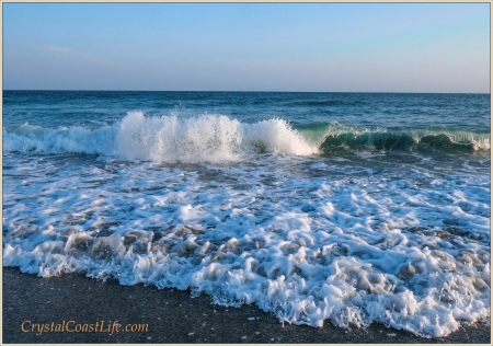 The Waves at Third Street Beach, Emerald Isle, NC
