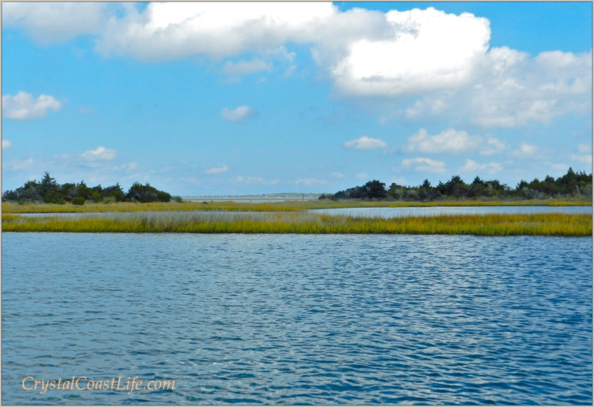 The Marshes Near Swansboro, North Carolina
