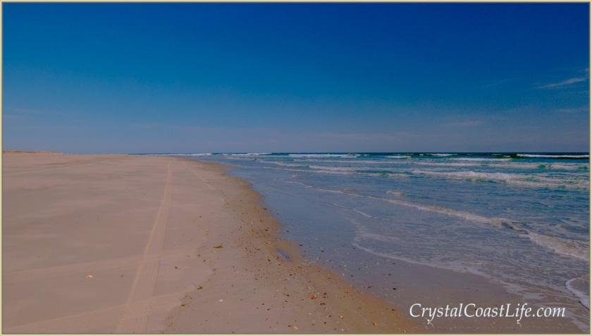 The beach near the Point at Emerald Isle