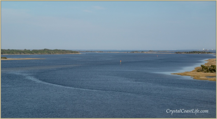 Bogue Sound in Spring