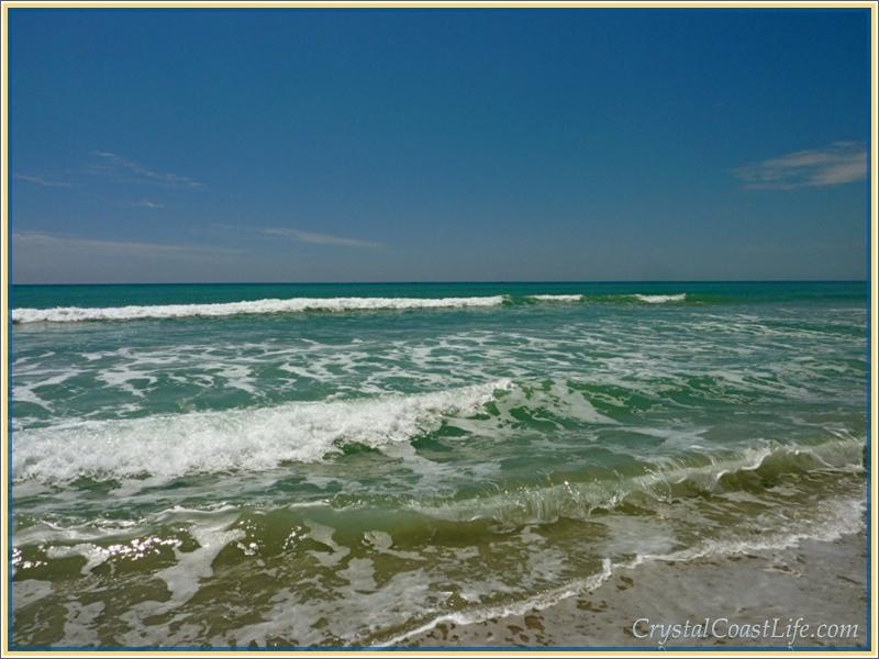 Waves on Emerald Isle