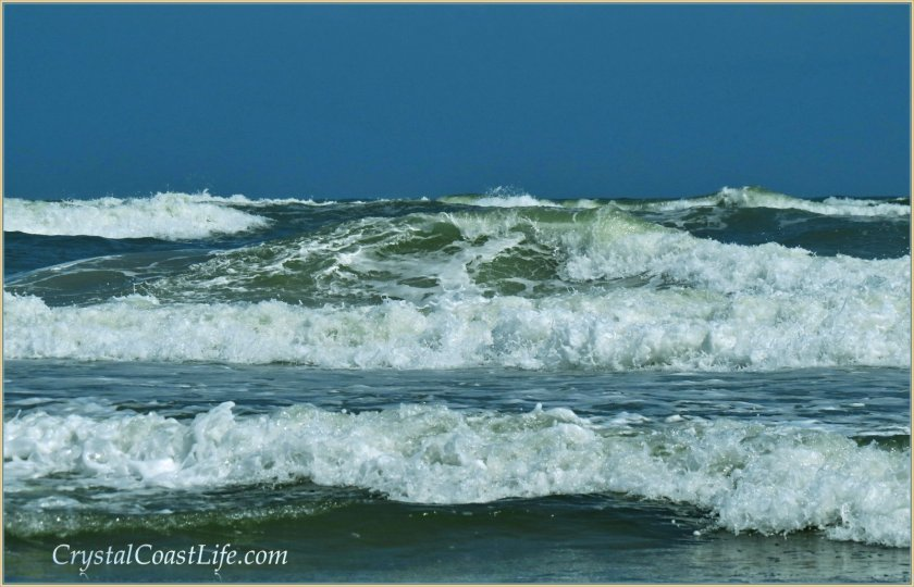 Waves near the Point, Emerald Isle, NC