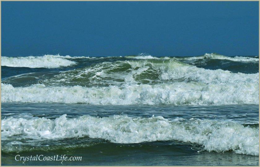 Waves near the Point, Emerald Isle, NC