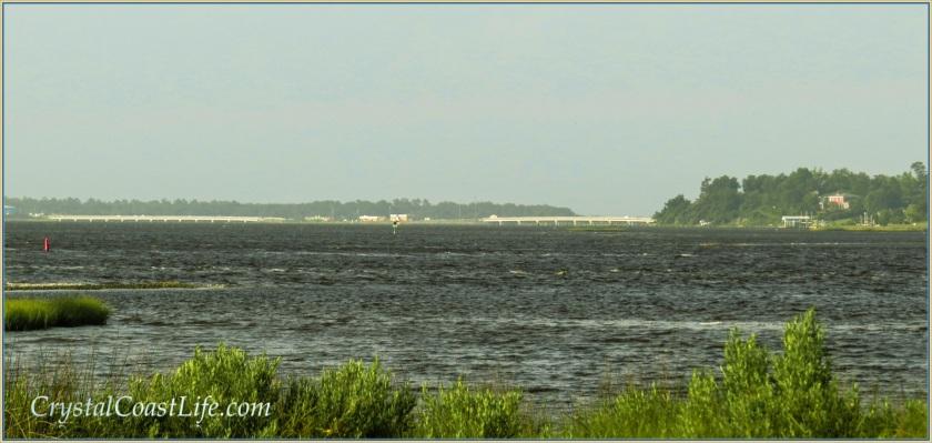 White Oak River before Arthur's Visit