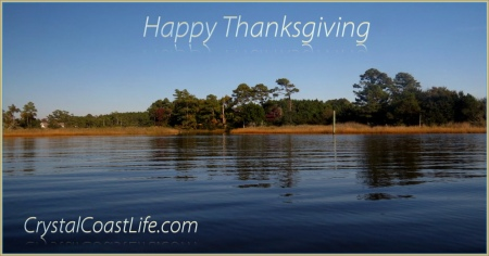 Happy Thanksgiving from the White Oak River