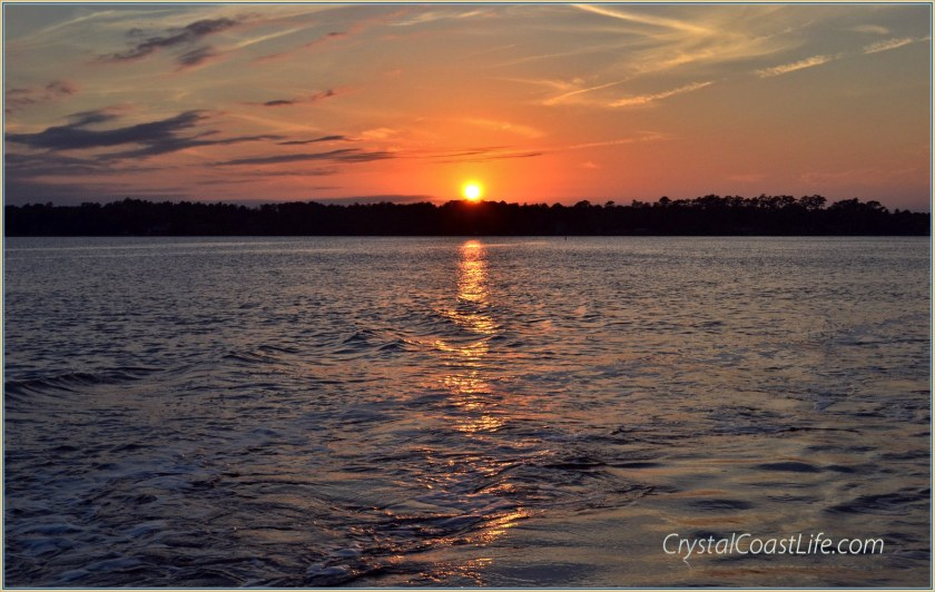 Sunset on the White Oak River