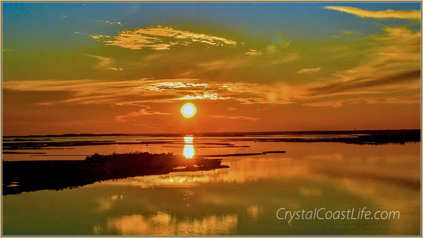 Bogue Sound Sunset